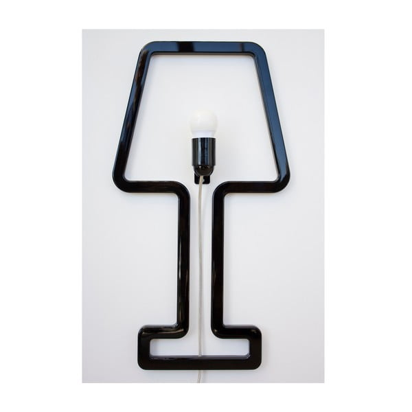Lampa ścienna Colored Shape Black