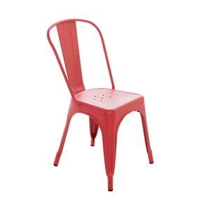 Krzesło InArt Antique, czerwone