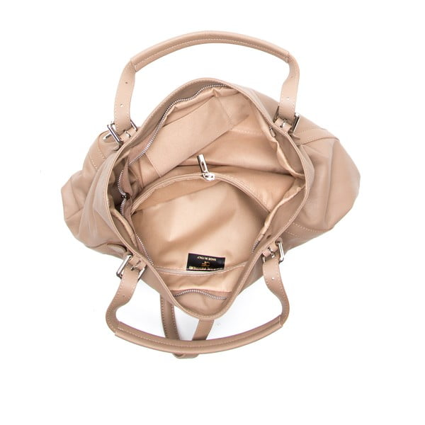 Skórzana torebka Theresa, brązowa