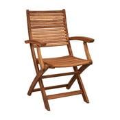 Krzesło składane z podłokietnikami Butlers Somerset