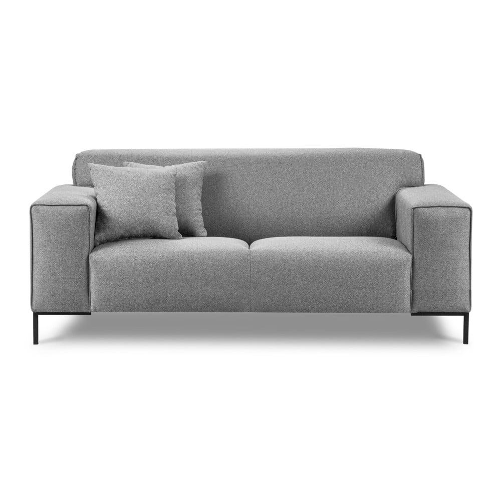 Szara sofa Cosmopolitan Design Seville, 194 cm