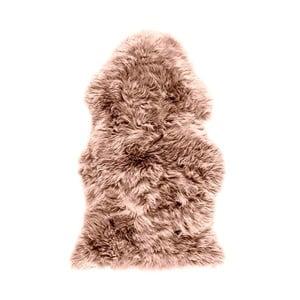Brązoworóżowa skóra owcza Royal Dream Sheep, 120x60 cm