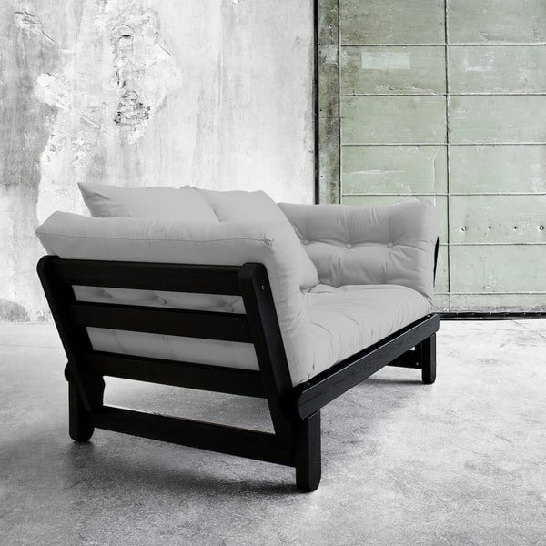 Sofa rozkładana Karup Beat Black/Gris