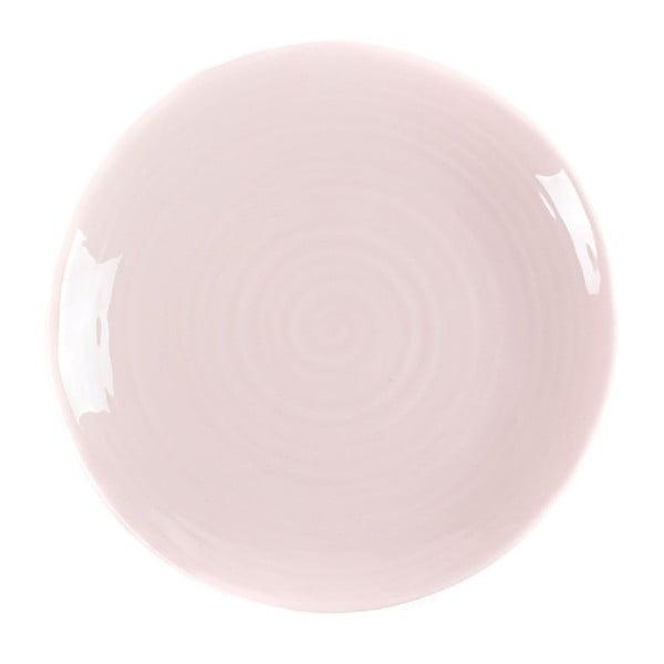 Talerz Earth 27 cm, różowy