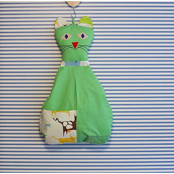 Kieszeń bawełniana Kotka, zielona
