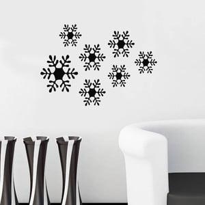 Świąteczna naklejka Śnieżynki