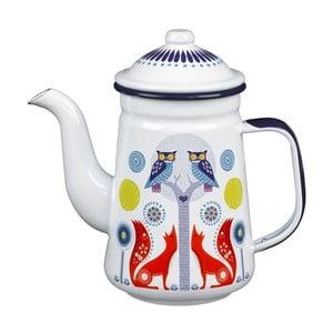 Emaliowany dzbanek do kawy Folklore Day