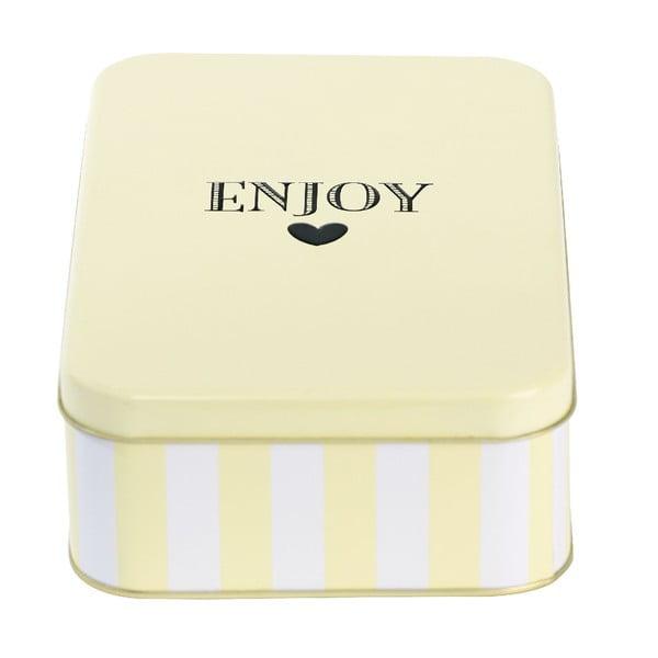 Pojemnik blaszany Enjoy Lemon