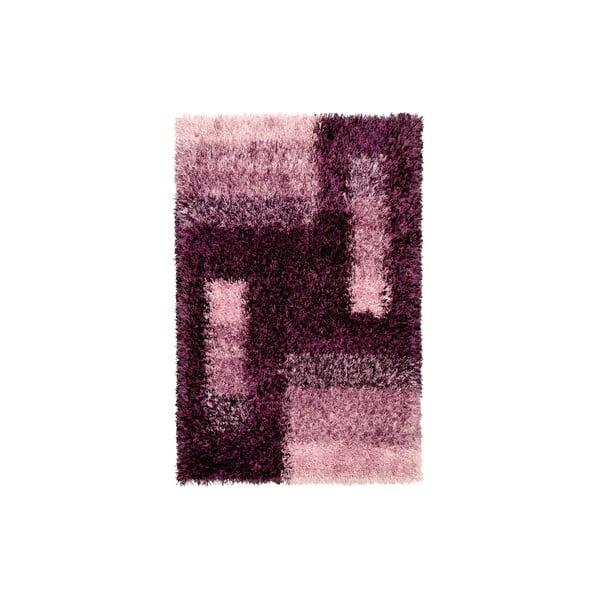 Dywan ręcznie tkany Lavella, 70x140 cm, fioletowy
