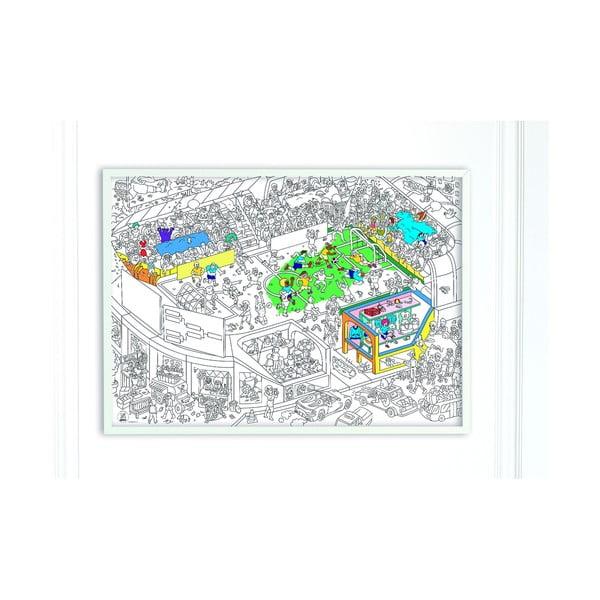 Kolorowanka Football (70 x 100 cm)