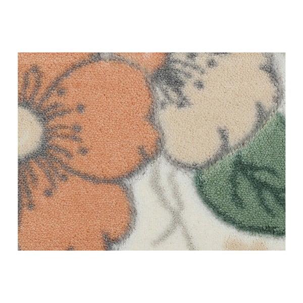 Kremowy dywanik łazienkowy Confetti Bathmats Paris, 50x57cm