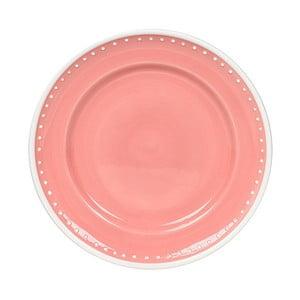 Talerz ceramiczny Marikere Pink, 21 cm