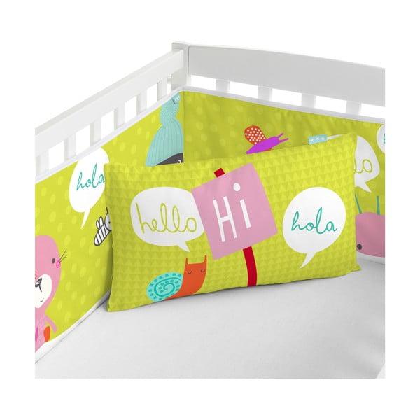 Ochraniacz do łóżeczka Hello, 70x70x70 cm