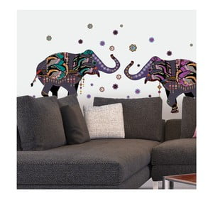 Naklejka Dancing Elephants
