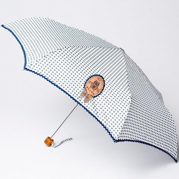 Parasol składany  Alvarez Vichy Grey Illustration