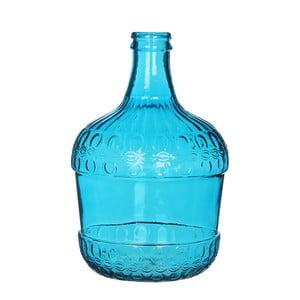 Niebieski wazon szklany Mica Diego, 40x27cm