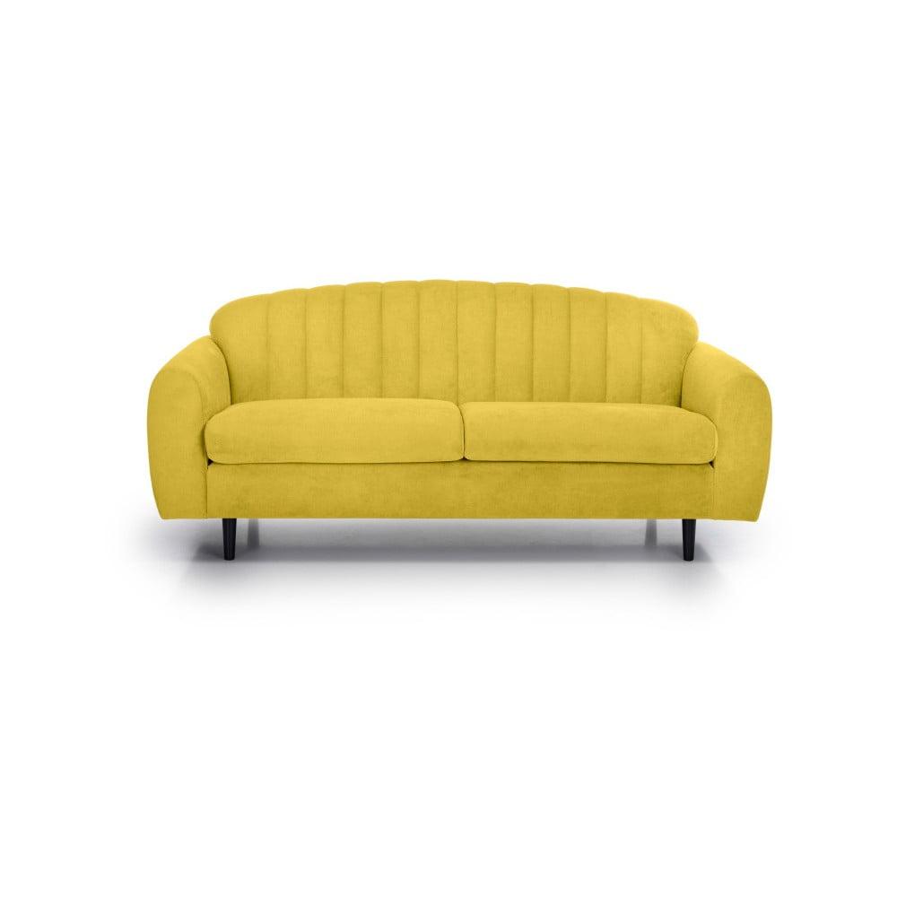 Żółta sofa 2-osobowa Softnord Cadillo