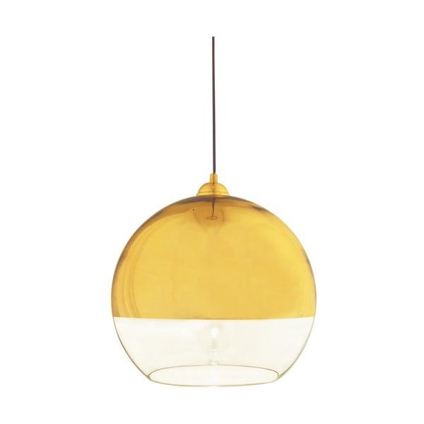 Lampa wisząca Scan Lamps Lux Gold, ⌀35 cm