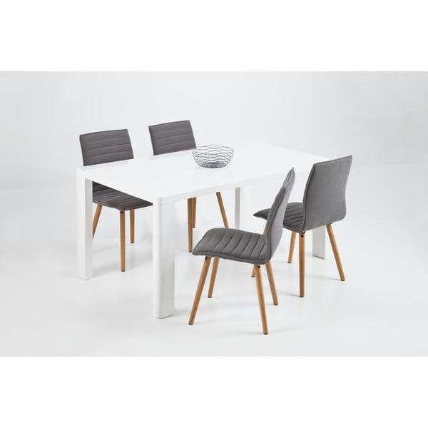 Krzesło do jadalni Karla, jasnoszare