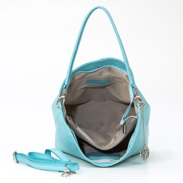 Skórzana torebka Marco, lazurowa