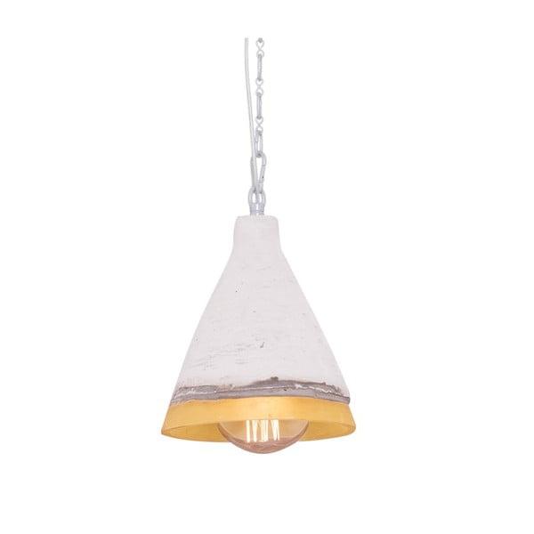Lampa wisząca z marmurowym abażurem Flash, 17 cm