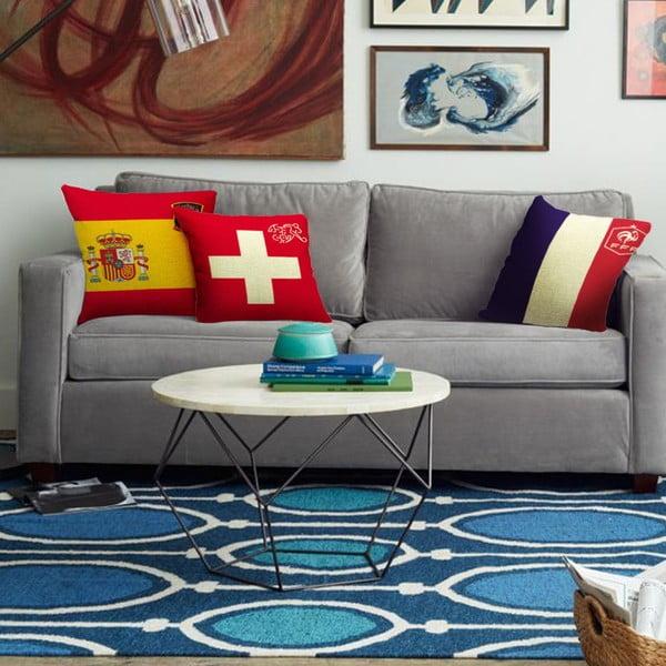 Poszewka na poduszkę Suiza, 45x45 cm