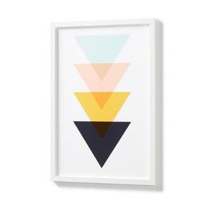 Obraz w białej ramie La Forma Blanks