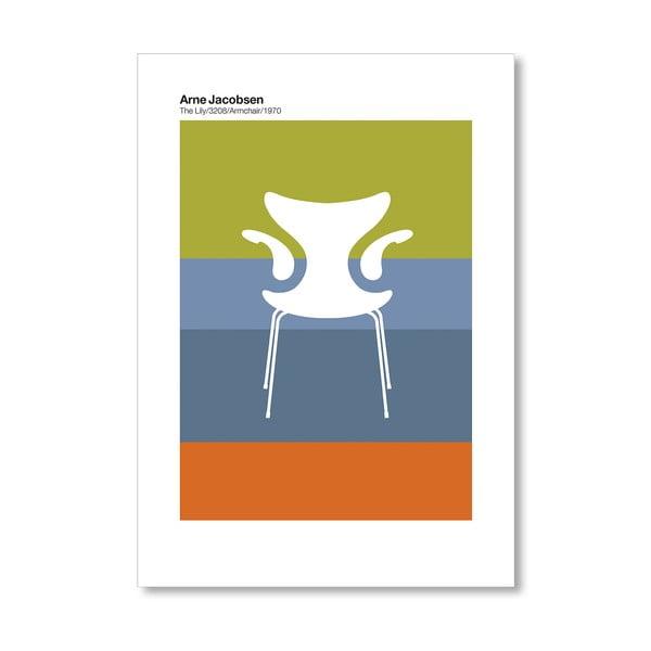 """Plakat autorski """"Jacobsen Lily"""""""