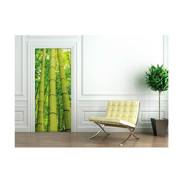 Naklejka   na drzwi Ambiance Bamboo