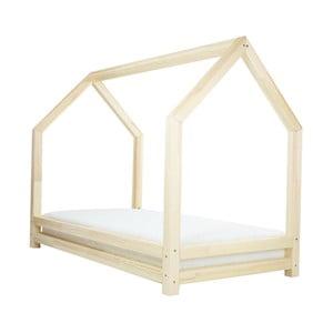 Naturalne łóżko 1-osobowe z drewna sosnowego Benlemi Funny, 80x160cm