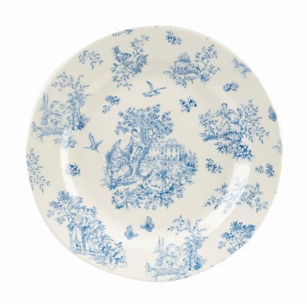 Talerz Toile Blue de Jardin, 26 cm