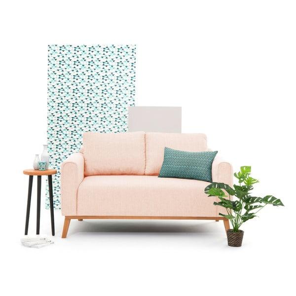 Różowa sofa 2-osobowa Vivonita Milton