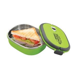 Pojemnik na lunch Lunchbox Green, owalny