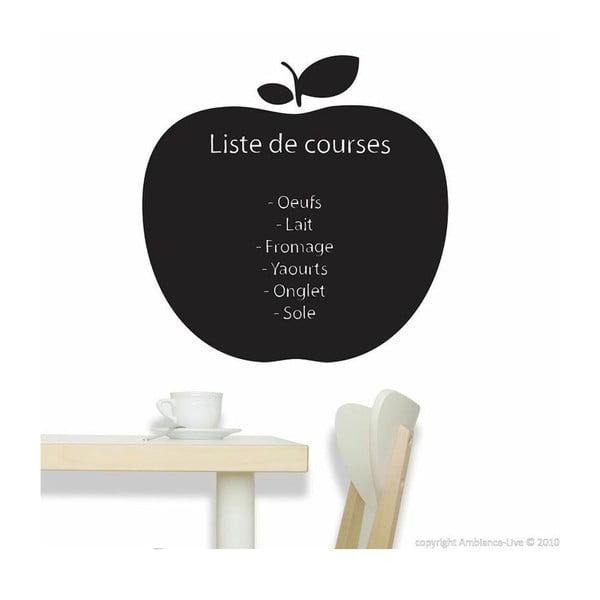 Naklejka tablicowa z kredą Ambiance Apple Blackboard