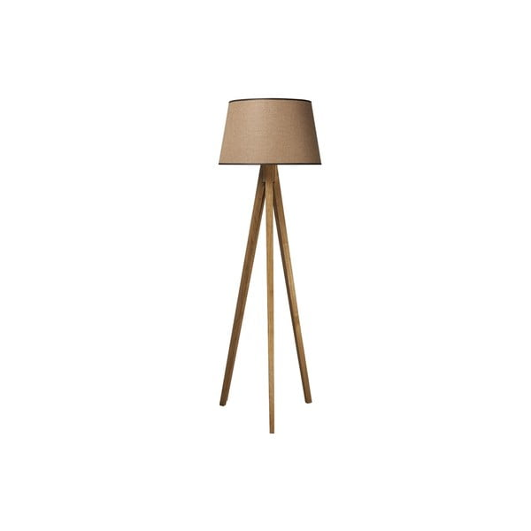 Lampa Tripod Wood Light Brown