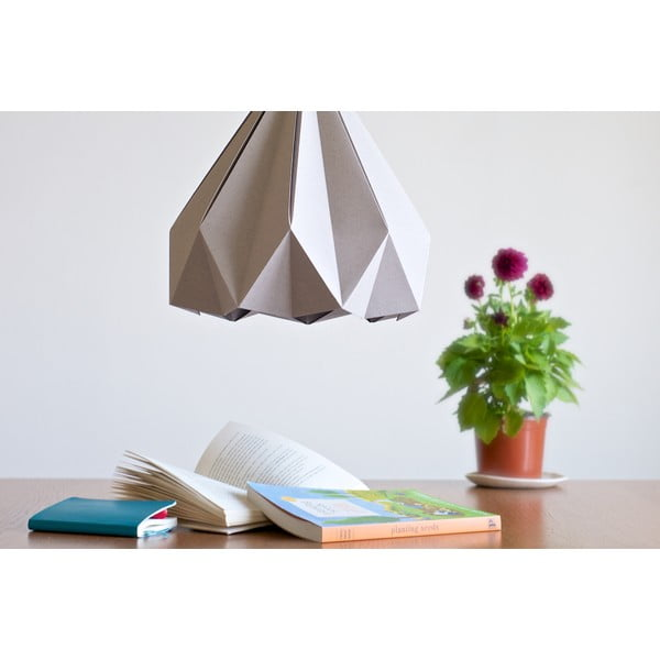 Lampa wisząca Origamica Spring Light Elegant Grey