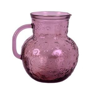 Różowy dzban szklany Ego Dekor Flora, 2,3 l