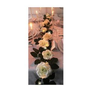 Girlanda ślubna z lampkami LED Roses, 3,6 m
