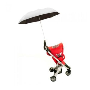 Parasolka do wózka Buggy Brolly, srebrna