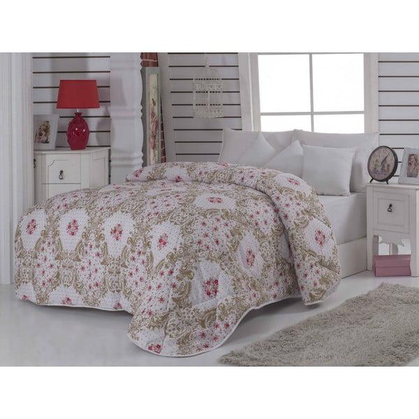 Narzuta pikowana na łóżko dwuosobowe Selma, 195x215 cm