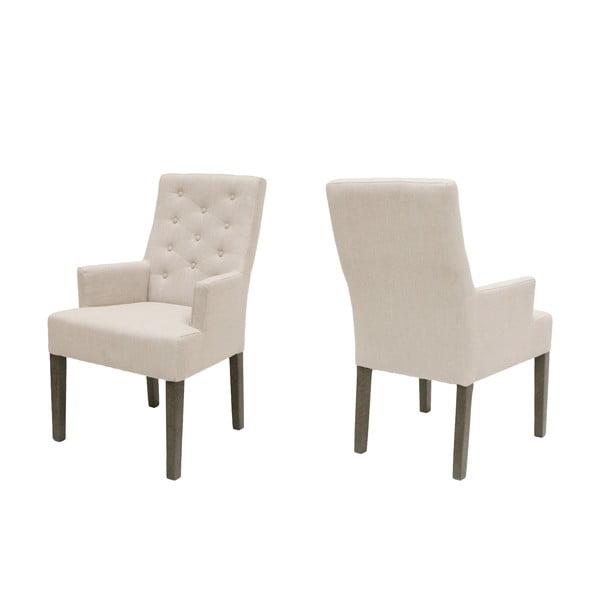 Krzesło Canett Twitter Chair z podłokietnikami, ciemne nogi