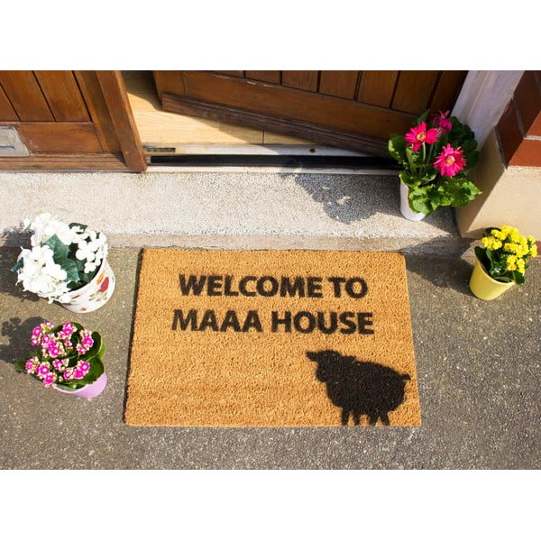 Wycieraczka Artsy Doormats Welcome to Maaa House, 40x60 cm