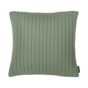 Zielona poduszka ZicZac Comrad, 45x45 cm