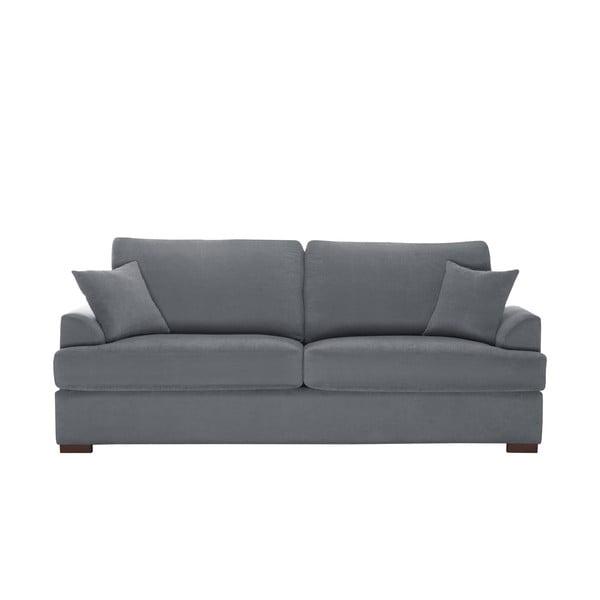 Sofa trzyosobowa Jalouse Maison Irina, szara