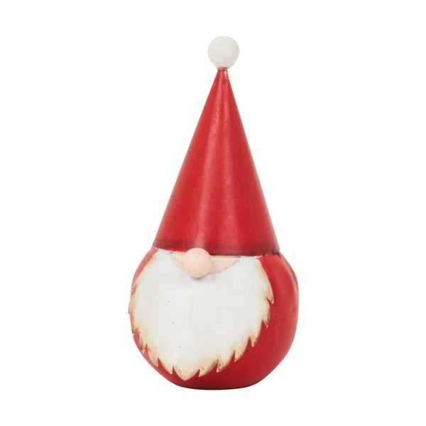 Dekoracja Archipelago Round Red Santa, 12 cm