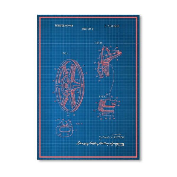 Plakat Film Reel, 30x42 cm