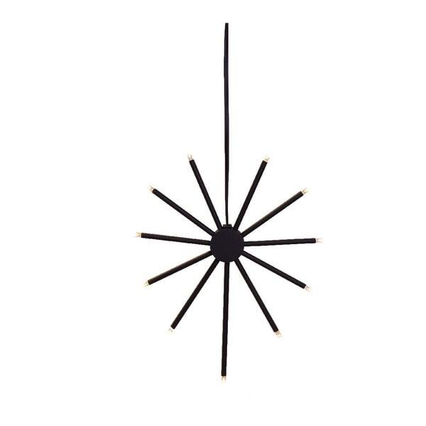 Świecąca dekoracja Strix Star Black