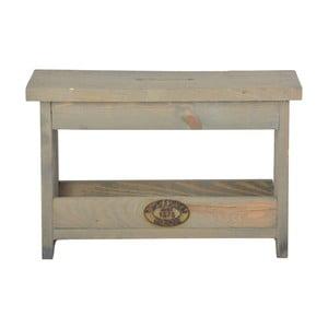 Stołek z drewna sosnowego Esschert Design