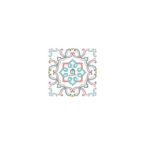 Zestaw pościeli i 2 poduszek Breton Multi, 200x200 cm