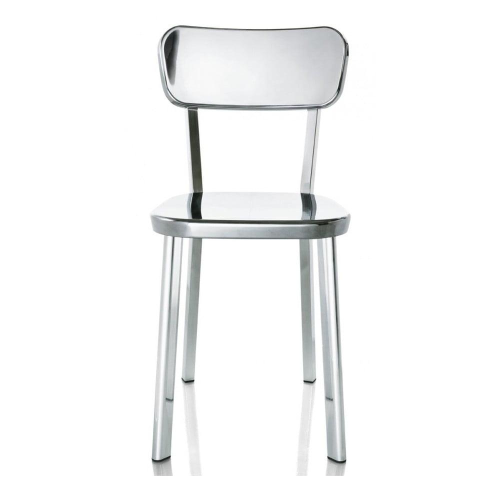 Krzesło w kolorze srebra Magis Deja-vu